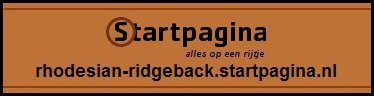 Rhodesian Ridgeback Startpagina