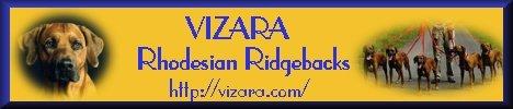 Vizara Rhodesian Ridgebacks