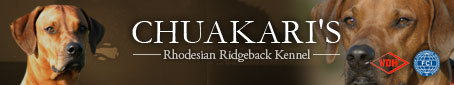 Chuakari's Rhodesian Ridgeback Kennel