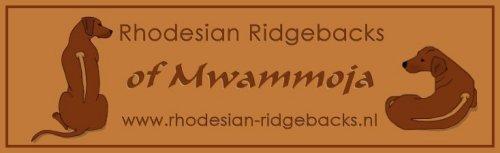 Rhodesian ridgeback kennel of Mwammoja